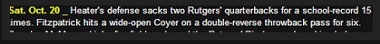 I called for this pass to be thrown against Rutgers back in the summer of 2012. Unfortunately, wasn't used until Nov. 4.