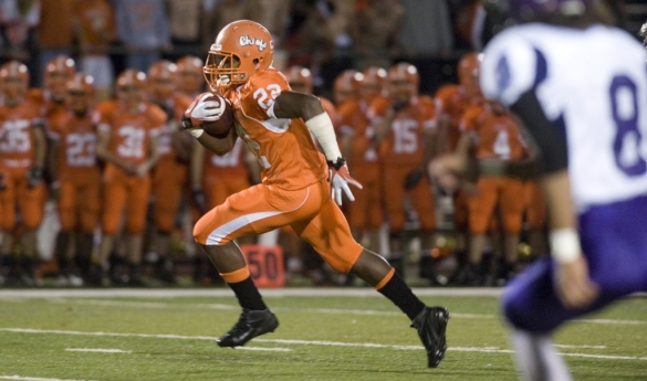 Zaire Williams, while at Cherokee (N.J.), rushed for 389 yards and six touchdowns in one game ... as a junior.