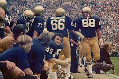 Rudy Ruettiger (45) played for Dan Devine, who once applied to be head coach at Temple.