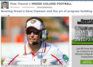 Click on Dave Clawson for a blueprint on how to build three winning programs.