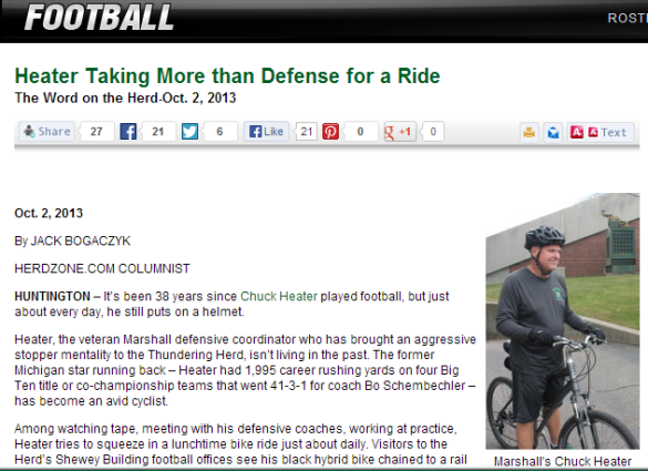 Click over photo for great story on Marshall DC Chuck Heater.