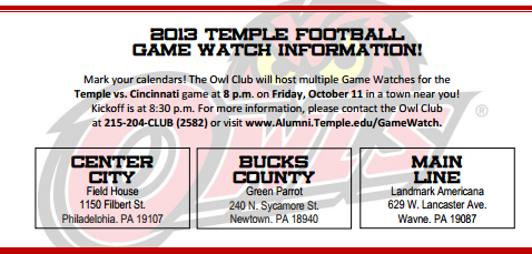 The Owl Club will host three watch parties tonight.