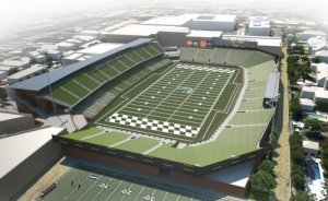 New Tulane Stadium will open this fall.