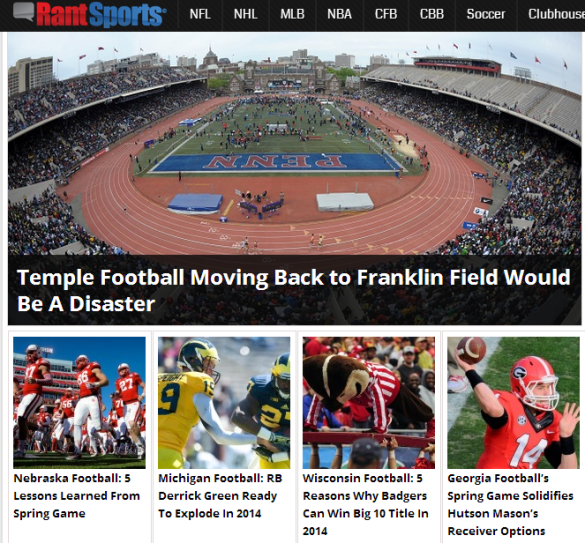 "Click on the four letters ""PENN"" for plenty of reasons why Temple should never consider playing there."