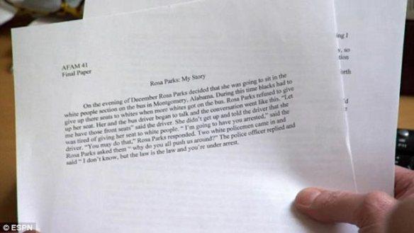 This paper got an A- grade.