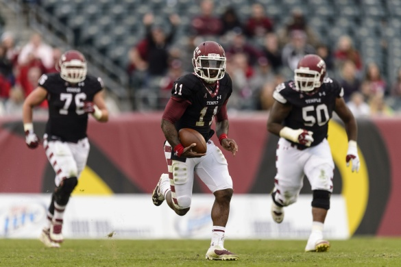 Temple's P.J. Walker will be ahead of the curve and his blockers this fall.
