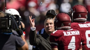 Mike Aresco, AAC commissioner, selling away Temple's bid for no more than a couple of coins.