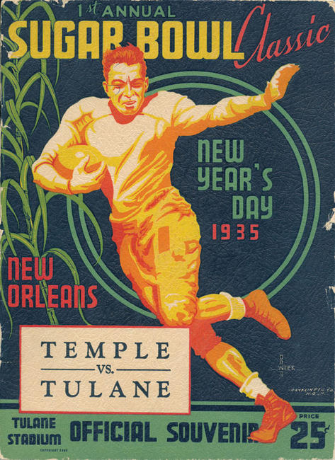 Programs for this Saturday's game will probably go for higher than 25 cents.