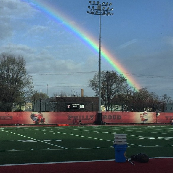 Hopefully, this great photo by Matt Falcone is a sign brighter days are ahead for the Temple Owls. Click on it to read five things you need to know prior to the spring game.
