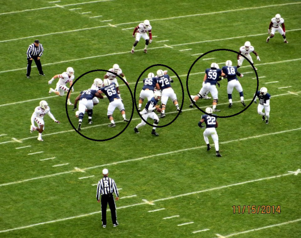 The key on Saturday will be the Owls sending MORE guys than the Nits can block, not like last year when PSU could use two lineman to block every rusher