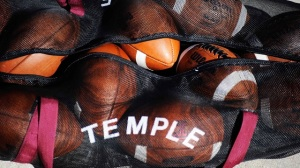 Temple summer practice, football,