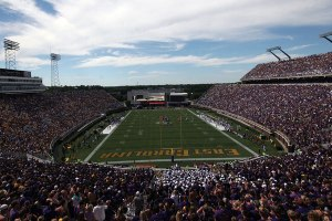 ECU's Dowdy-Ficklen Stadium. Let's hope the Owls come up with a better name, like The Apollo of Temple.