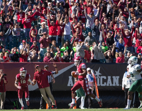 Click on the photo to see five trick plays that could help get Temple a Halloween treat.