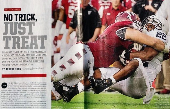 Reason No. 6 Owls will win: They did not make the cover of SI.