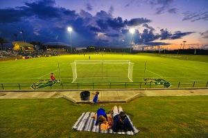 USF soccer stadium. Tampa, Fla. Sept. 6, 2012.