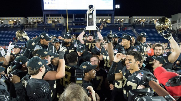 NCAA Football: Military Bowl-Temple vs Wake Forest