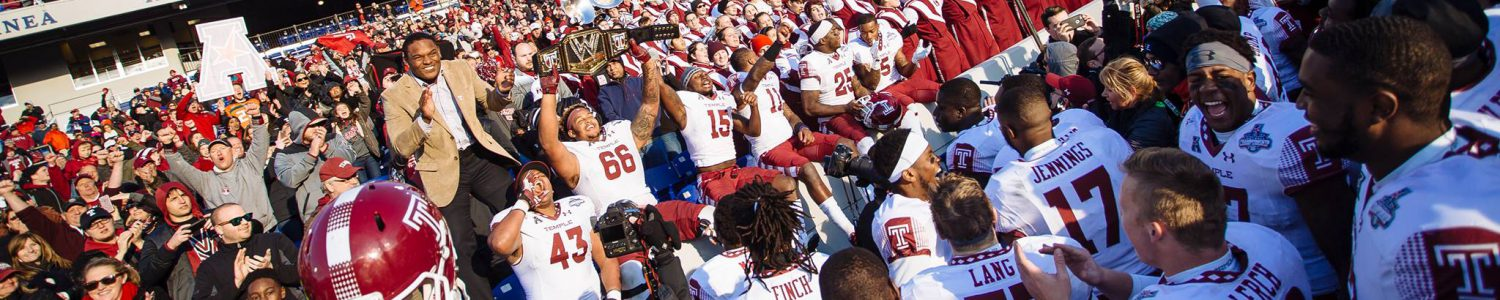 Temple Football Forever be2e05ead