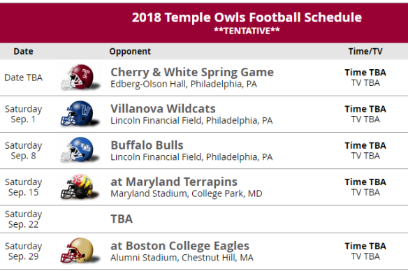 We Are BC! Choose Schedule Type
